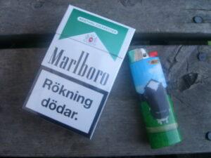 Marlboro menthol cigg